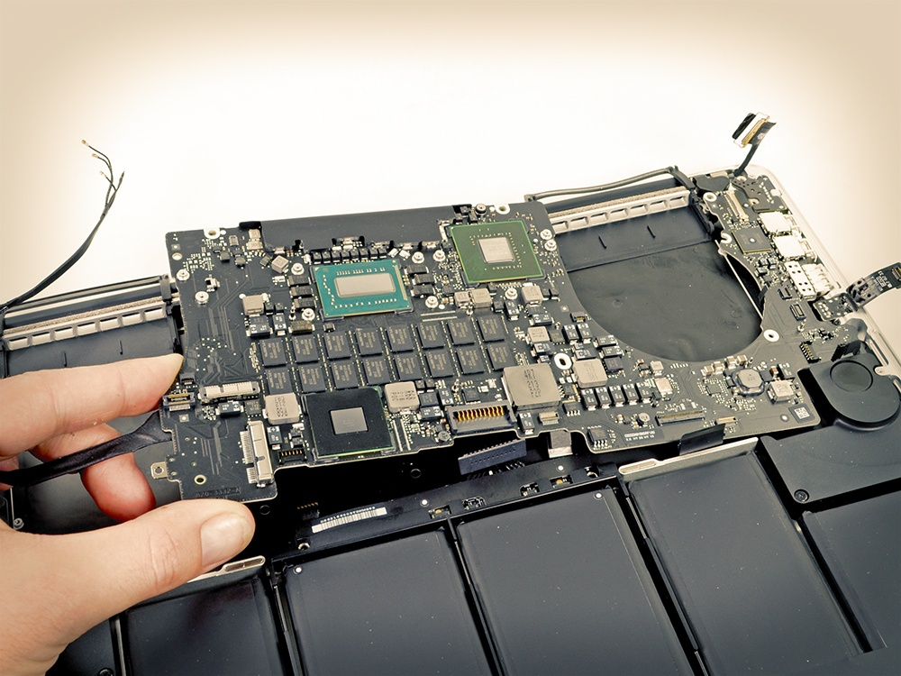 Placa base de Macbook