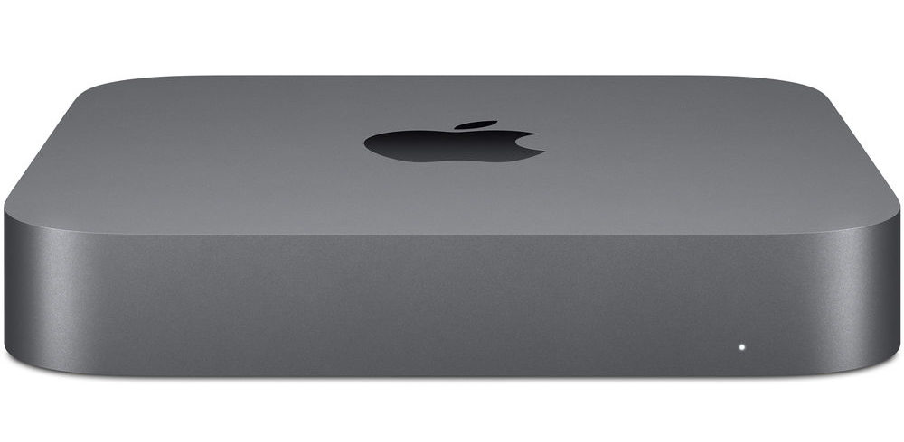 Apple Mac mini delante