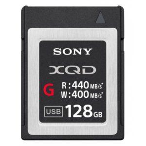 serie G XQD G de 128 GB de Sony